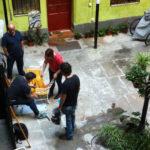 Neighbours work
